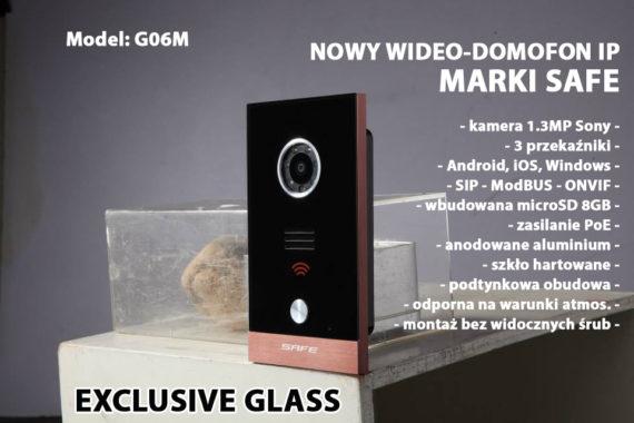 wideodomofon ze szkła
